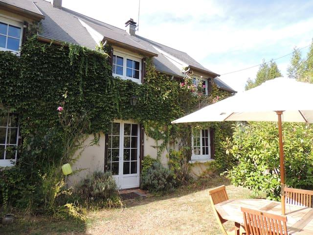Charmant cottage normand à Soligny La Trappe - Soligny-la-Trappe - Huis