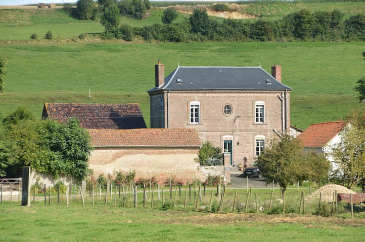 Maison Gruettes - a beautifully restored house. - Raye-sur-Authie - 獨棟