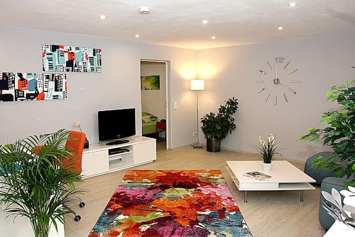 Modern ausgestattetes, ruhig gelegenes Apartment - Ransbach-Baumbach - Leilighet