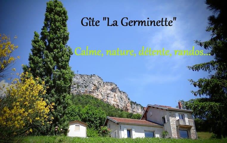 """Gîte """"La Germinette"""" calme, nature - Plan-de-Baix - Casa"""