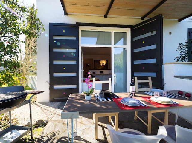 Suite (per 4 persone) con giardino - Carmignano - Apartamento