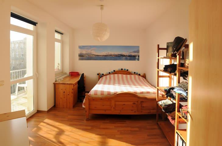 Sonnige, ruhige & zentrale Wohnung - Stralsund - Appartement
