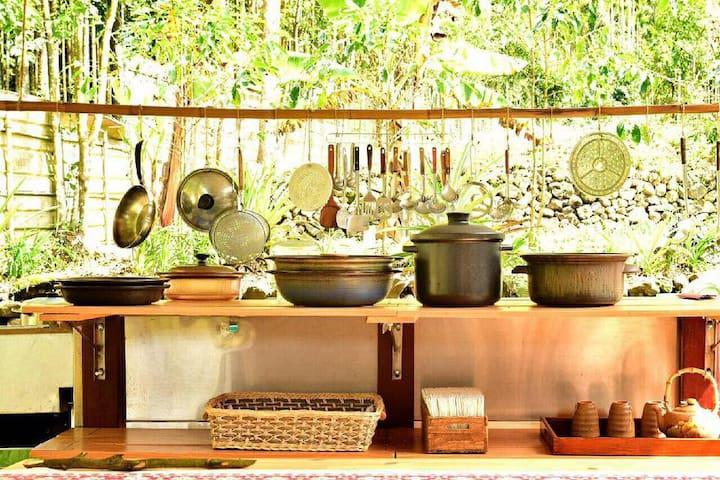 Eco Stay! Real Food Bfast incl. 5min Lake. Nature! - Yuchi Township - Luontohotelli
