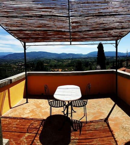 Tiny romantic tower on the hills of Florence - Impruneta - Lägenhet