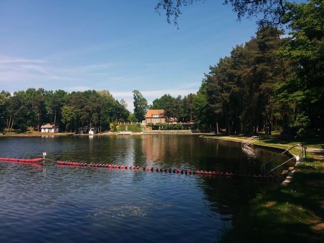 Ferienwohnung am Wasser + Seeblick - Dresden - Leilighet