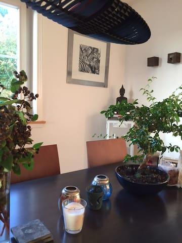 cozy apartment in the nature, close to Zurich - Erlenbach - Appartamento