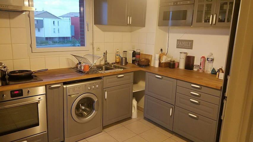 Appartement  T4 Toulouse proche Blagnac - Gagnac-sur-Garonne - Byt