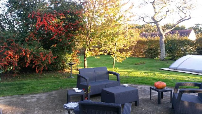 Chambre d'hôte proche de Pont-Audemer et Honfleur. - Manneville-sur-Risle - Bed & Breakfast