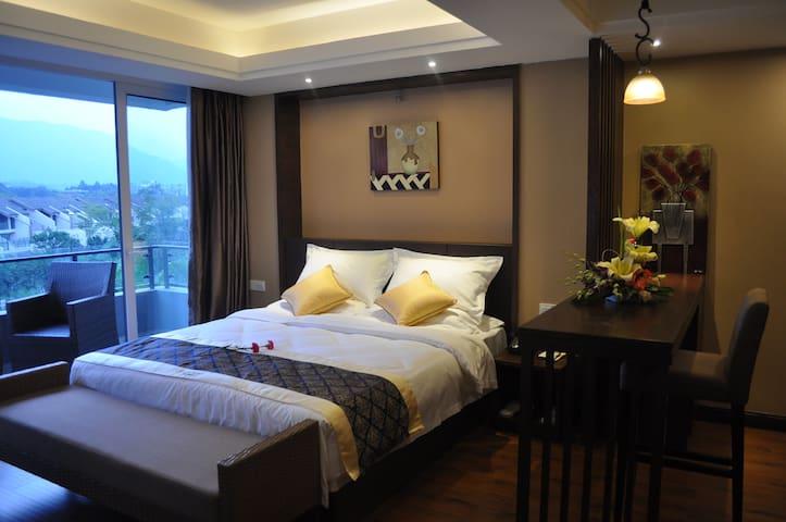 豪华园景大床房 - Leshan - Bed & Breakfast