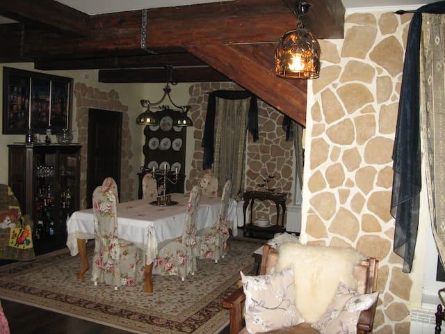 Гостевой дом на Рузском водохранилище - Ruzskiy rayon - Huis