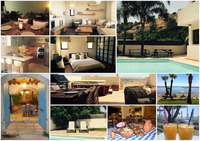Stylish apt with hot tub & large terrace, sea view - Oroklini