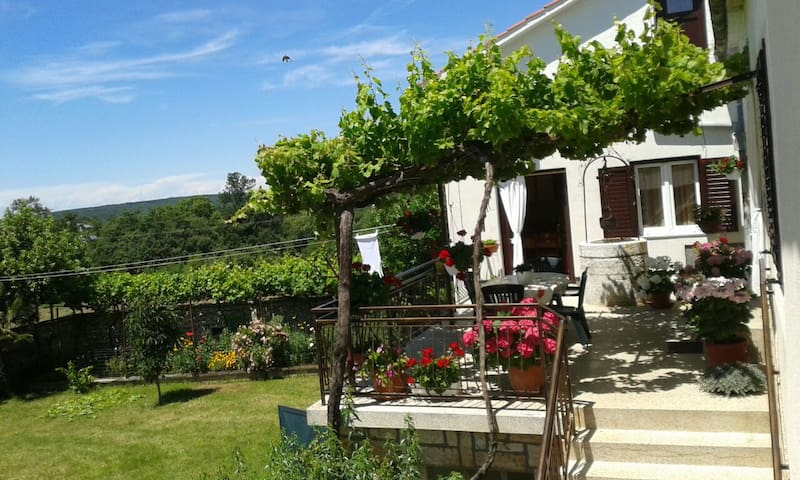 Quietly countryside holiday-Tudari - surrounding of Žminj, Croatia - Apartamento