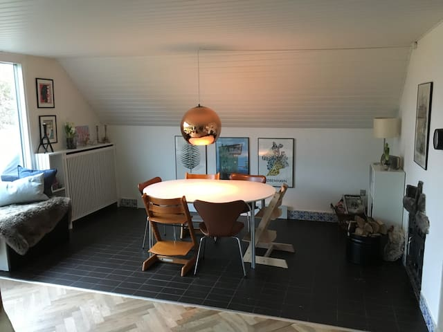 Cozy family house close to Copenhagen - Farum - Huis