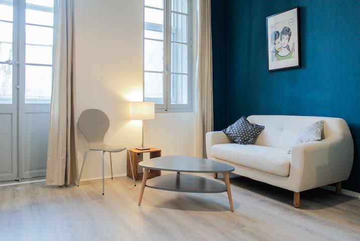 Superbe T1 au calme (terrasse+clim) - Marsylia - Apartament