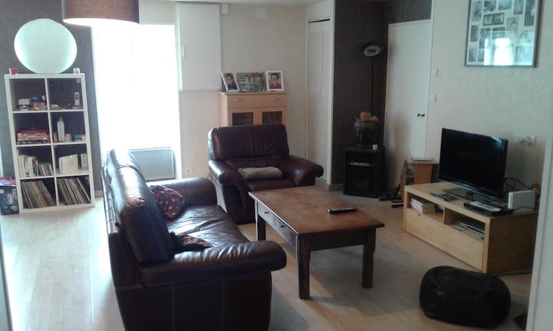 chambres privées dans longère de 120 m2 - Saint-Hilaire-le-Vouhis - Huis