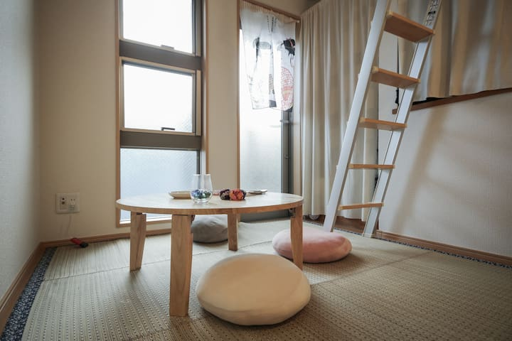 【New!】A 15- minute from Shinjuku!【There is wi-fi】 - 中野区 - Loft