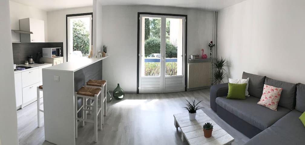 Studio sympa (en résidence+parking) proche centre - Montpellier