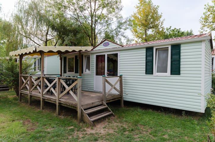 Mobil home 3 chambres top confort - Murs-et-Gélignieux - Bungalow