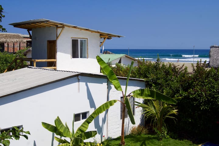 El Mirador: Oceanview w Private Kitchenette & Pool - Ayampe - Appartement