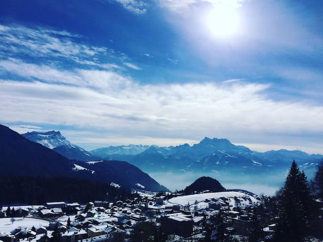 Mountain view - Leysin - Apartemen