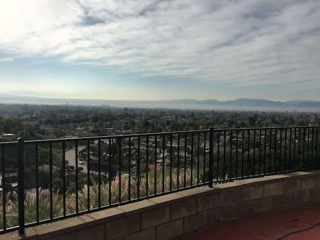 Gorgeous view at Hill House - San Bernardino