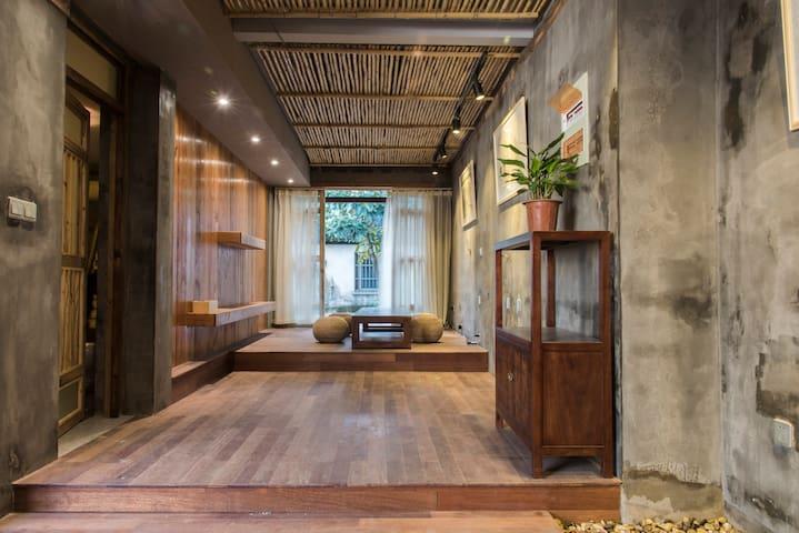 苏州平江路,竹庐 近博物馆、狮子林、拙政园 - Suzhou - Haus