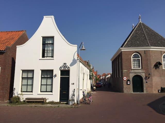 Romantisch vissershuisje in centrum - Zierikzee - Kulübe