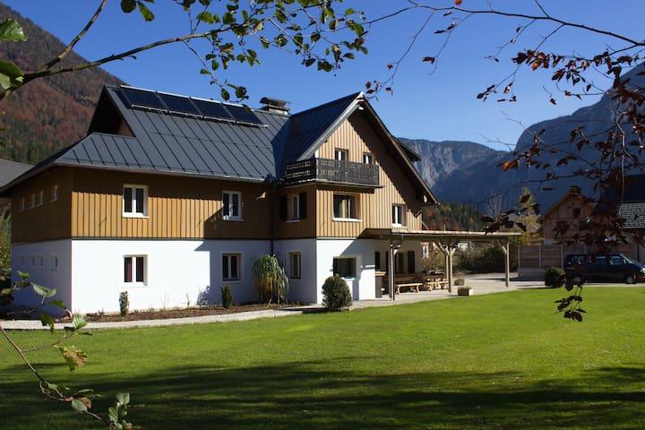 Landhaus am See:  großzügige Ferienwohnung 195 qm - Obertraun