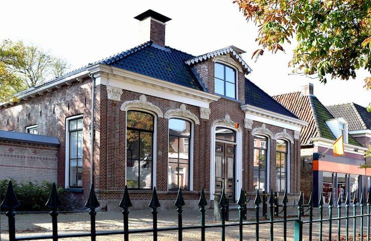 Prachtig appartement in Friesland - Kollum - Daire