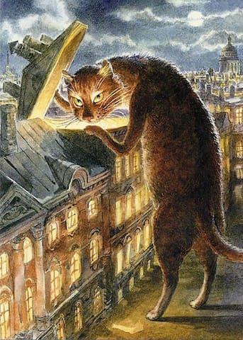 Студия Бродячий кот - Pushkin - Appartement