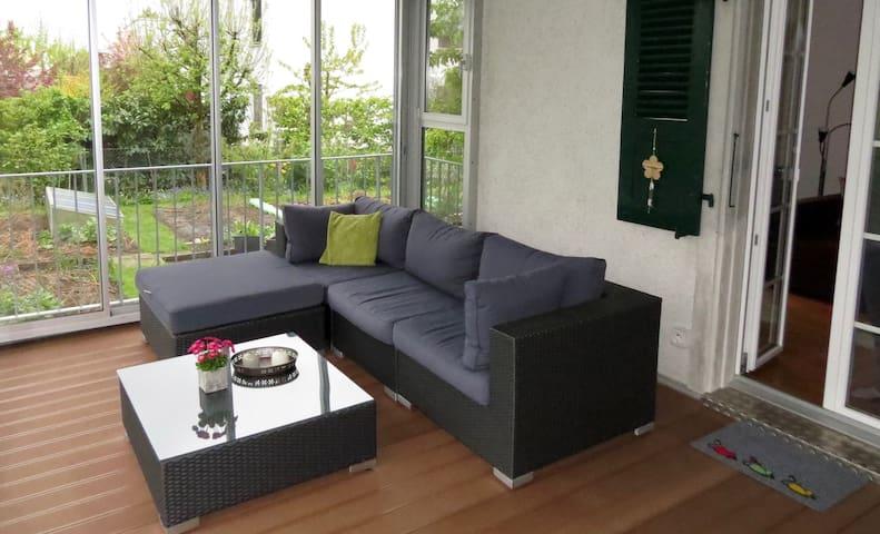 Möblierte 3-Zimmer Wohnung im Zentrum von Lyss - Lyss