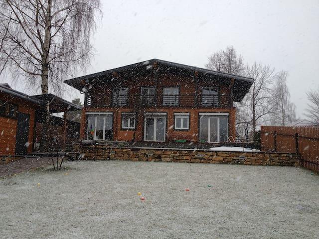 Уютный деревянный дом - Dubna