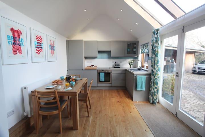 Studio cottage near Cornish beach - Bolingey - Huis