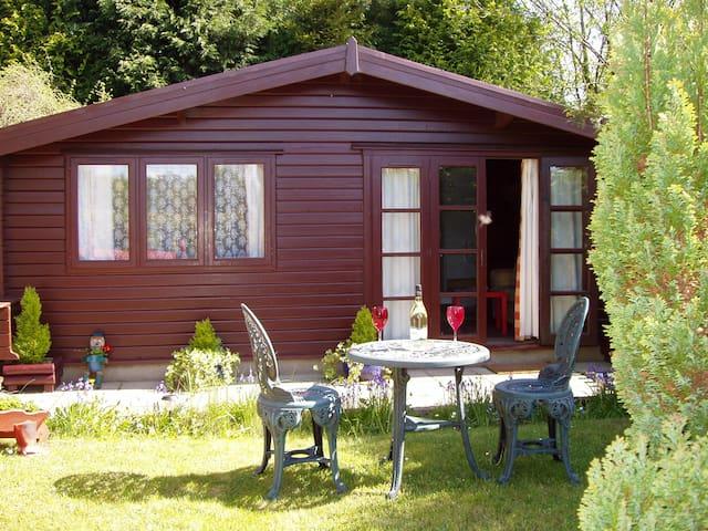 Pine lodge - Llantrisant - 12 miles from Cardiff - Rhondda Cynon Taff - Kulübe