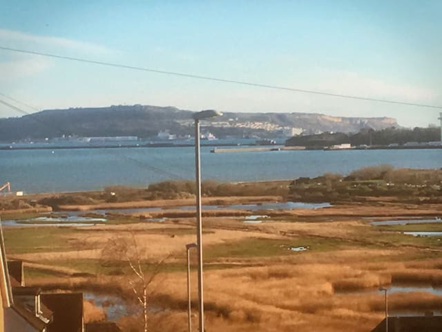 Apartment with panoramic sea views - Weymouth - Daire
