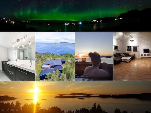 Terningtoppen (Terningan, Snillfjord) - Casa de campo