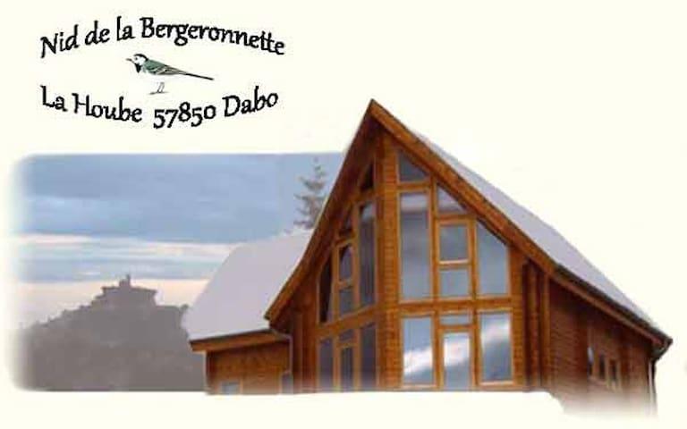 Nid de la Bergeronnette * 14 pers.* - Dabo - Alpstuga