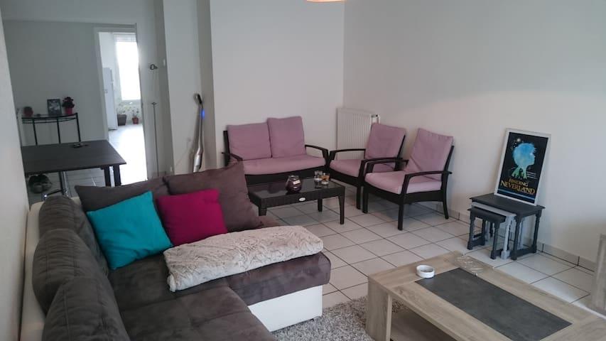 Charming apartment - city center - Andrézieux-Bouthéon - Leilighet