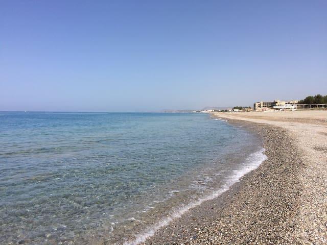 Cozy Double Room (200m to beach) - Rethymno - Casa