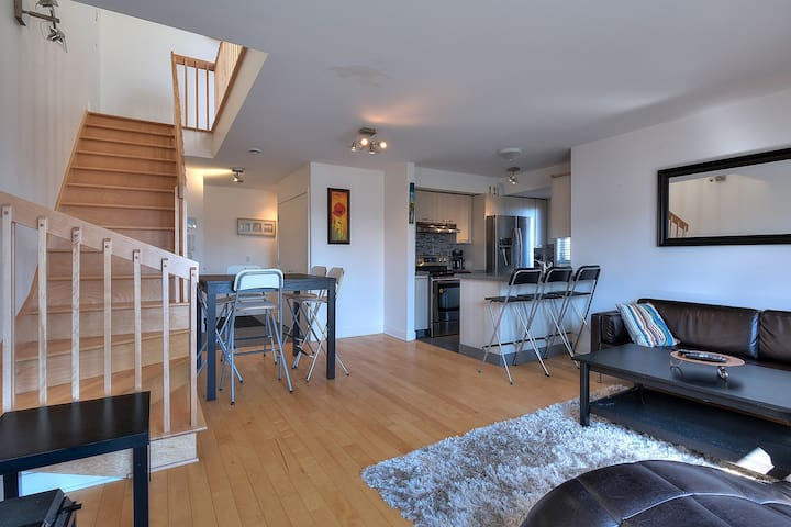 Beautiful new condo by the Lachine Canal/Airport - Montreal - Apto. en complejo residencial