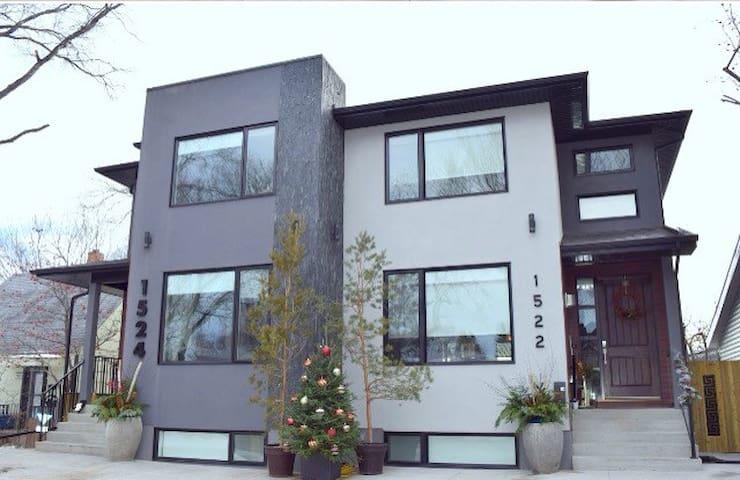 Modern Suite Near River/Downtown - Saskatoon