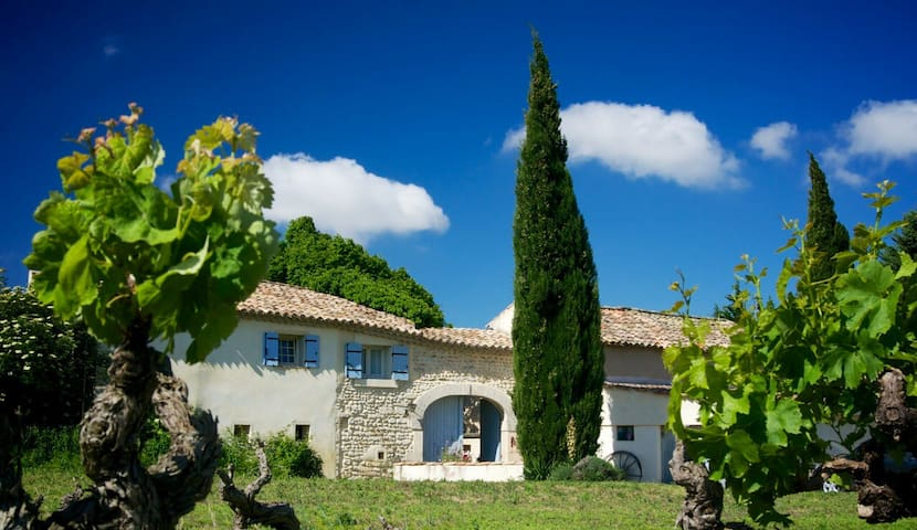 Chambres & table d'hôtes culinaire Provence - Visan - Bed & Breakfast