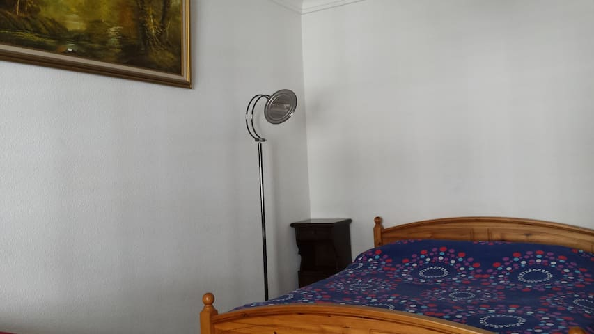 Spatious bedroom in front of main Square & River - Geneve - Huoneisto