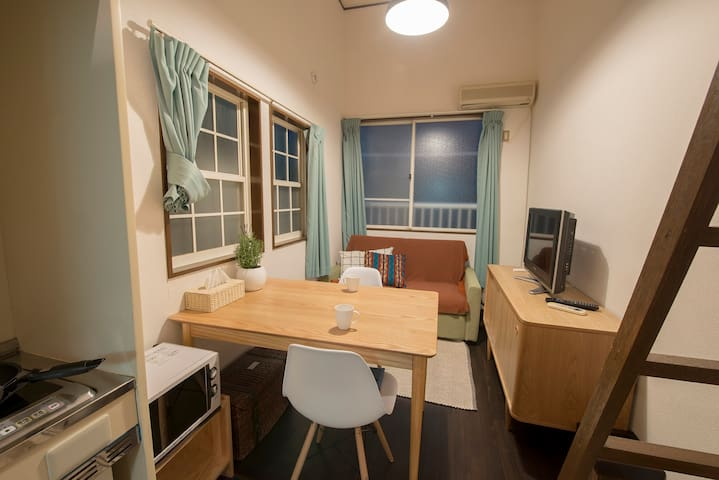 NEW30%! stylish cozy loft Apt around shinjuku #FE6 - Shinjuku-ku