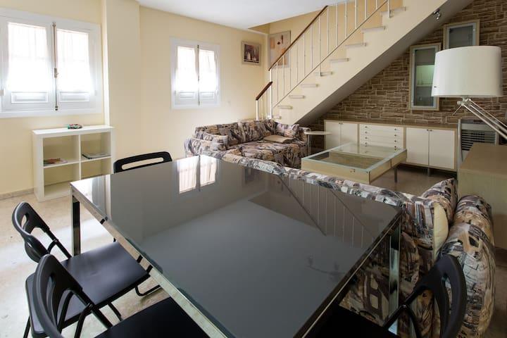 PARKING Duplex 2D Charming WIFI - セビリア - アパート