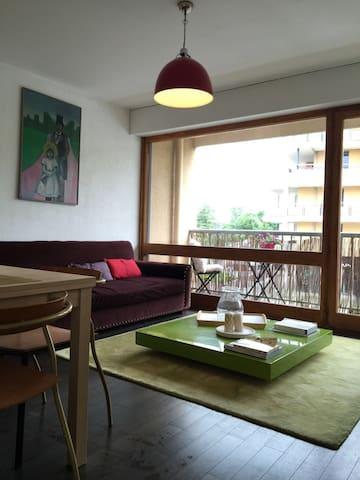 Jolie Appartement ensoleillé au centre de Divonne - Divonne-les-Bains