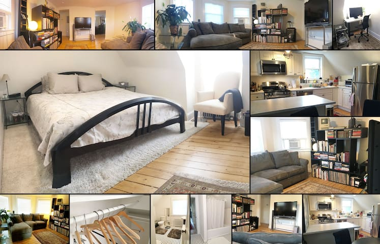 Charming, 2 BR Apt in Dobbs Ferry, close to all! - Dobbs Ferry - Lägenhet