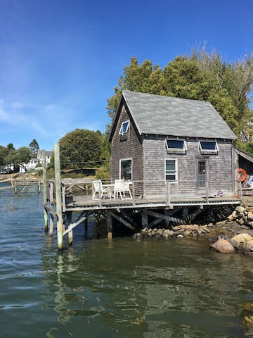 the Fish House, waterfront, Cape Porpoise - Kennebunkport - Guesthouse