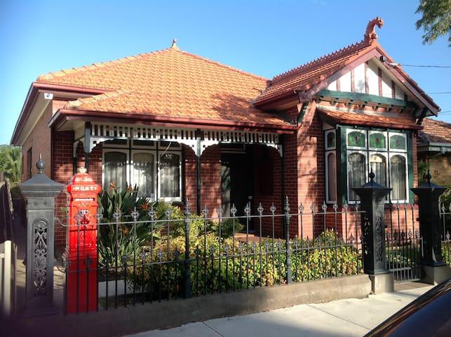 Yarraville, Melbourne, federation - Ярравилл - Дом