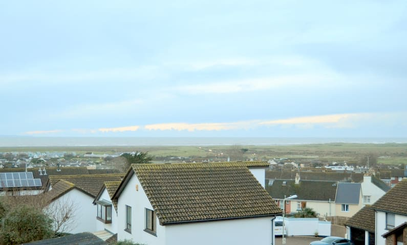 Double bed with paranomic sea view - Northam - Casa